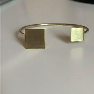 Asymmetrical Geometric Bracelet